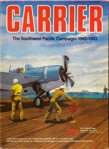 Carrier: The Southwest Pacific Campaign