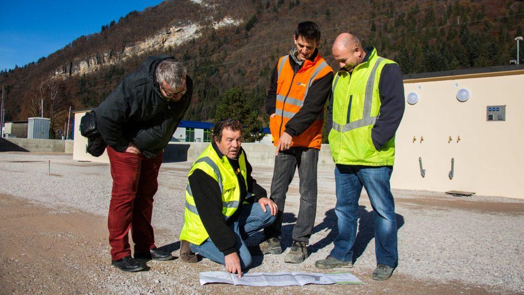 L'équipe CARRIER Géomètres Experts en action !