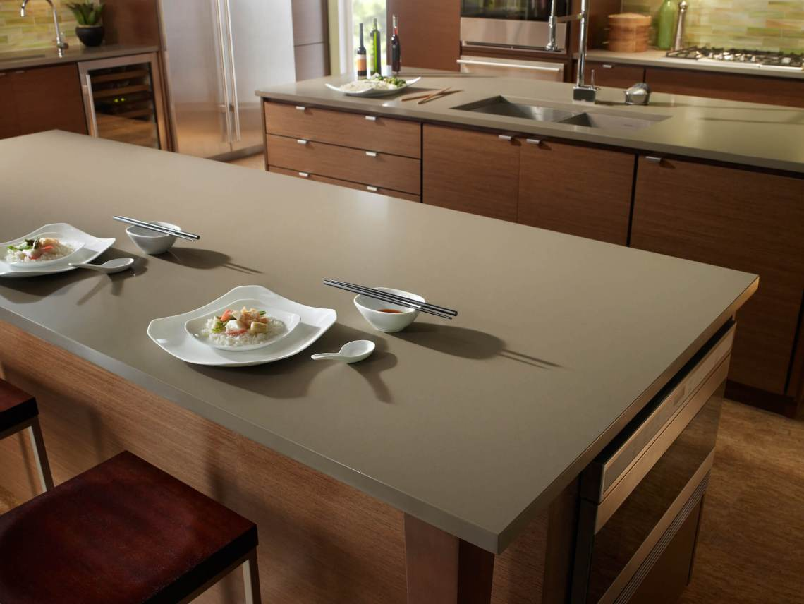 Plan de travail cuisine Quartz Silestone Unsui