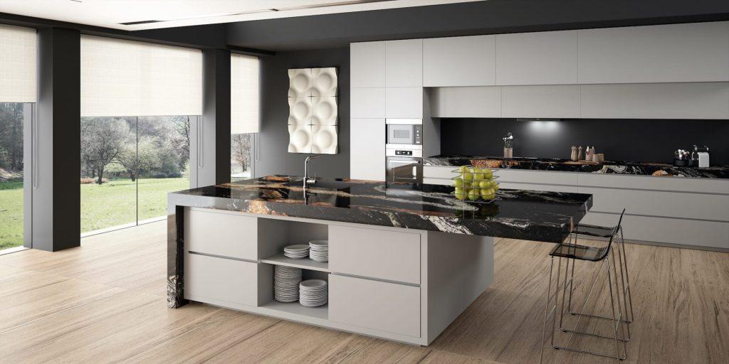 Plan de travail cuisine Granits Sensa Orinoco