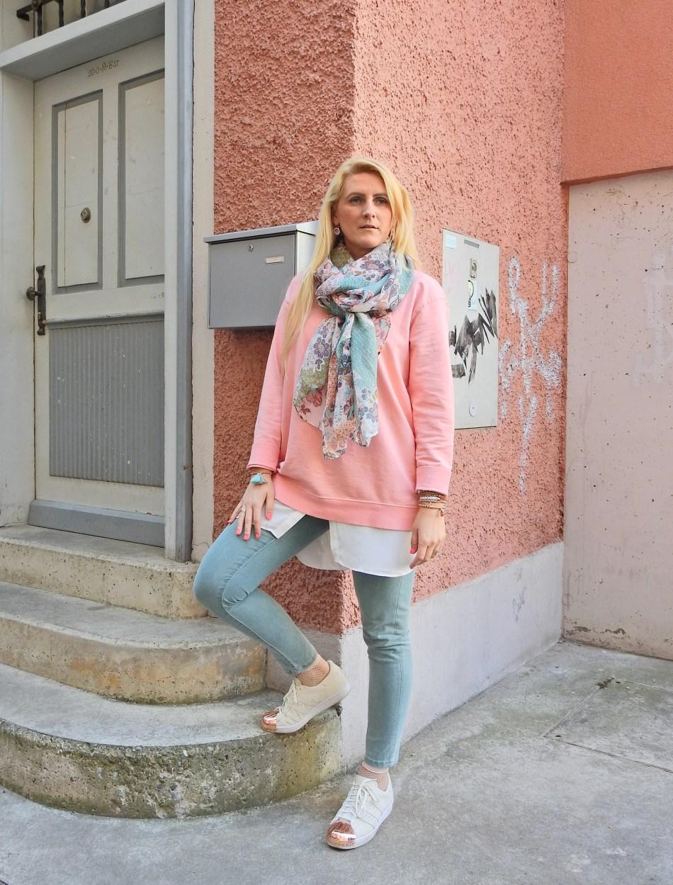Adidas Metal Toe Blogger Pastellfarben carrieslifestyle Mint Rosè