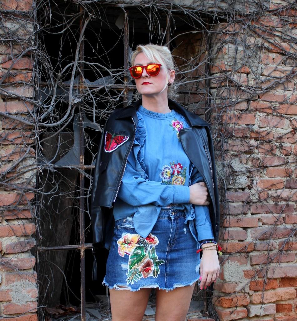 Denim Patches Stickerein Mocca Fashion Challenge