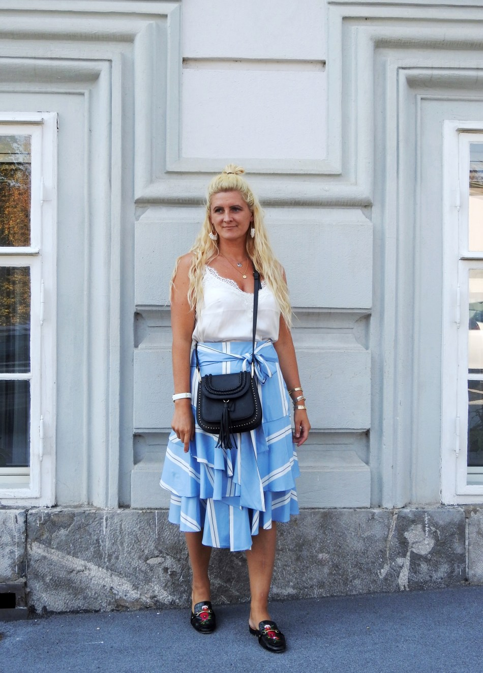 Volant-Skirt-Mules-Gucci-Chloe-Bag-Look-Alike-carrieslifestyle-Tamara-Prutsch
