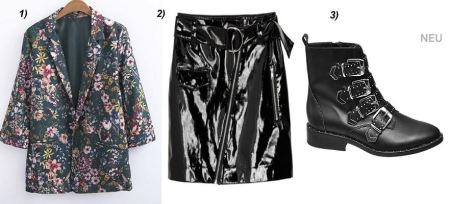 floral-print-Blazer-patent-leather-skirt-studded-givenchy-deichmann-boots-carrieslifestyle