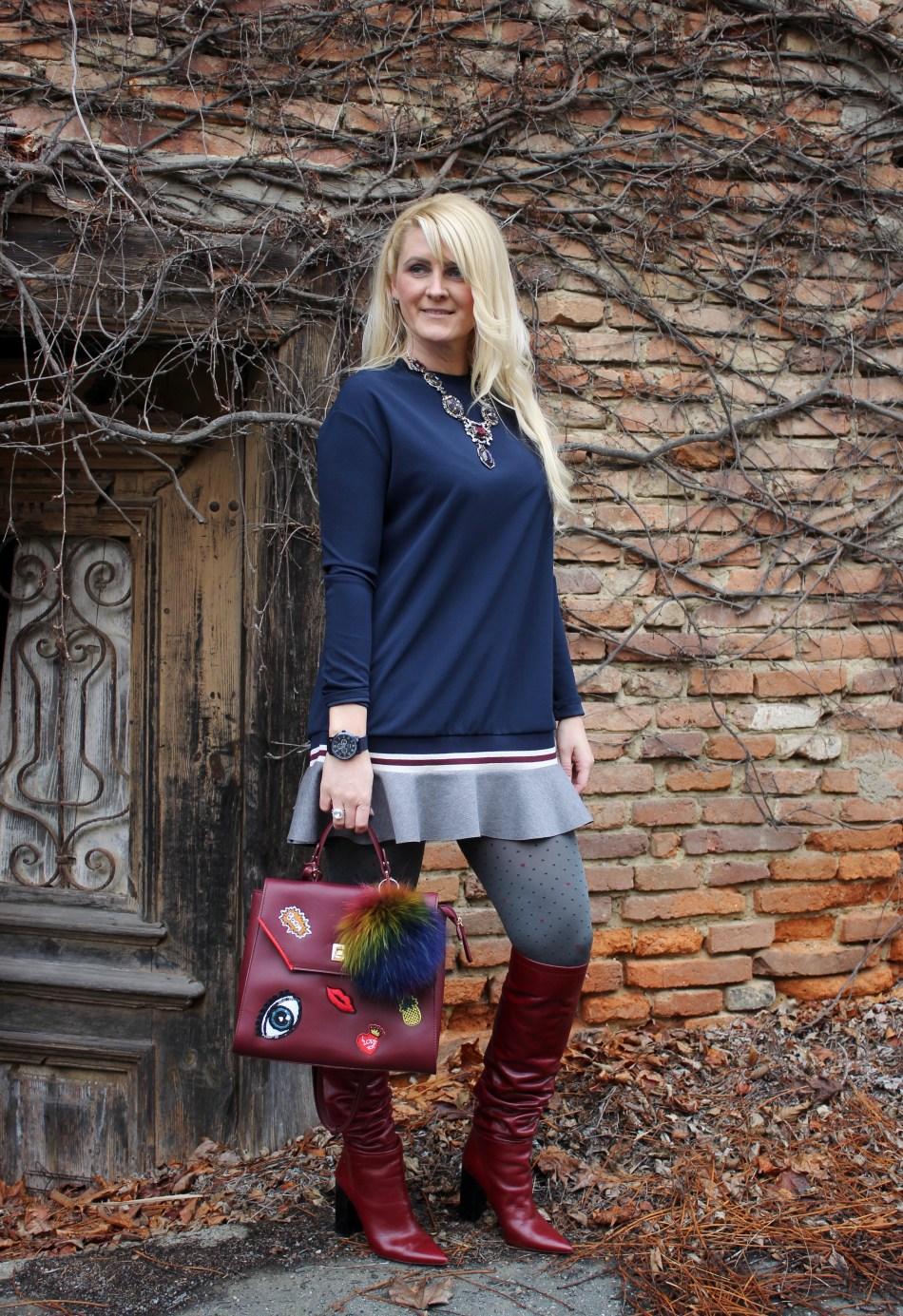 Dunkelrote-Boots-Overknees-Mini-Dress-carrieslifestyle-Tamara-Prutsch