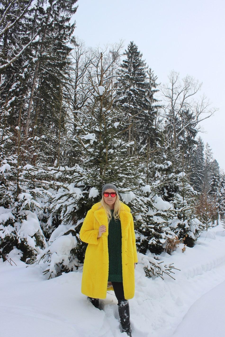 Winter-Wonderland-Schneelandschaft-Südsteiermark-Südsteirische-Weinstraße-Leutschach-Herzerlstraße-carrieslifestyle-Fake-Fur-Coat-Fauxfur-Mango-Tamara-Prutsch