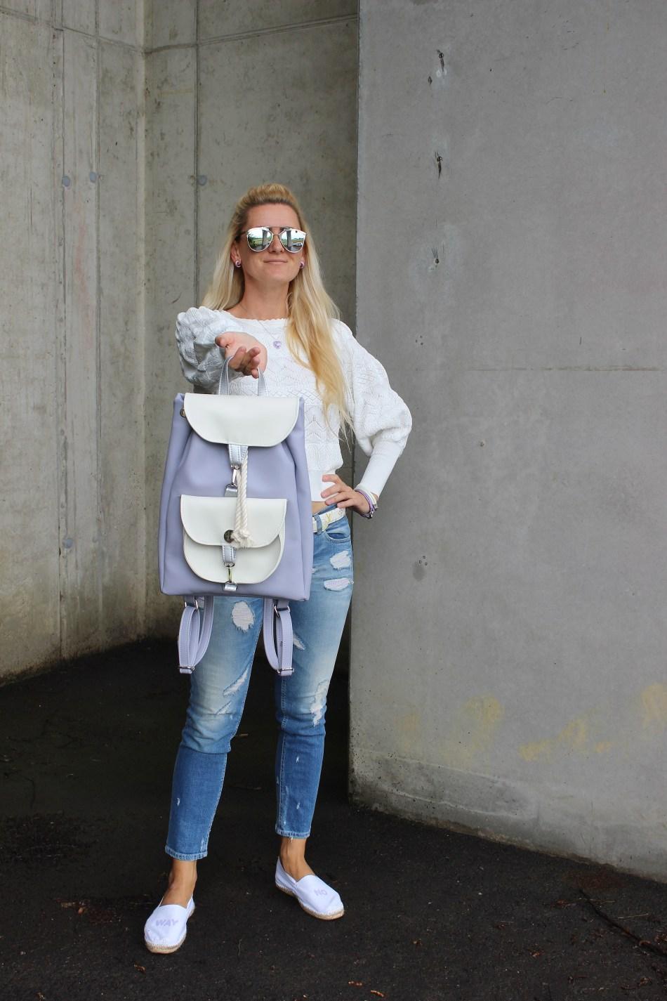 Hi! Backpacks- Slowenia-Rucksäcke-Pastellfarben-Lavendel-Trend Flieder-Denim-carrieslifestyle-Tamara Prutsch-Blogger-Bloggerstyle