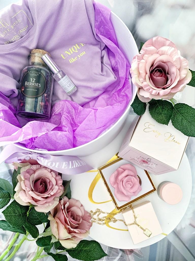 Loverose Cosmetics-Beautyrose- 3D Peelingrose-Silk Seidengesichtscreme-Augencreme-Limitierte Box-carrieslifestyle-Naturkosmetik