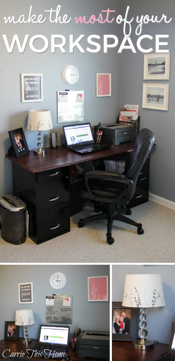 A few simple steps will help ensure your workspace is a place of productivity and inspiration!