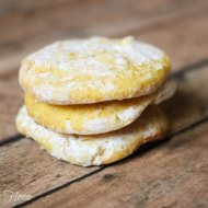 5 Ingredient Lemon White Chocolate Cookies