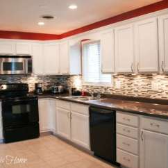 Kitchen Makeovers Stock Cabinets Budget Makeover