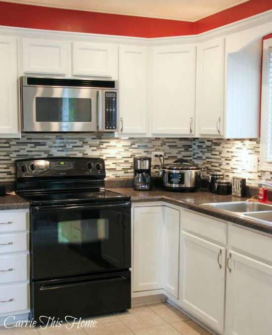 Low Budget Kitchen Cabinets: Budget Kitchen Makeover