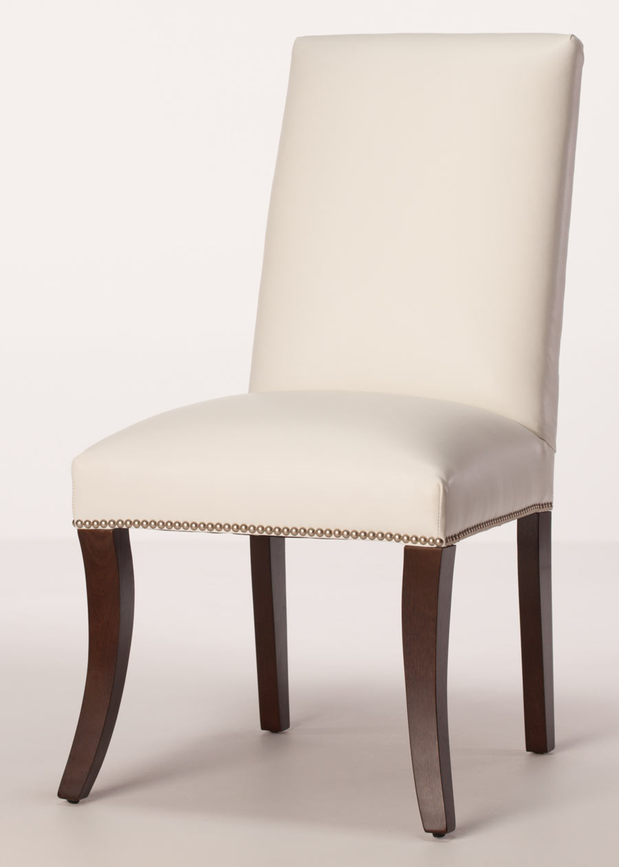Beige Leather Dining Chairs Sheffield Leather Dining Chair
