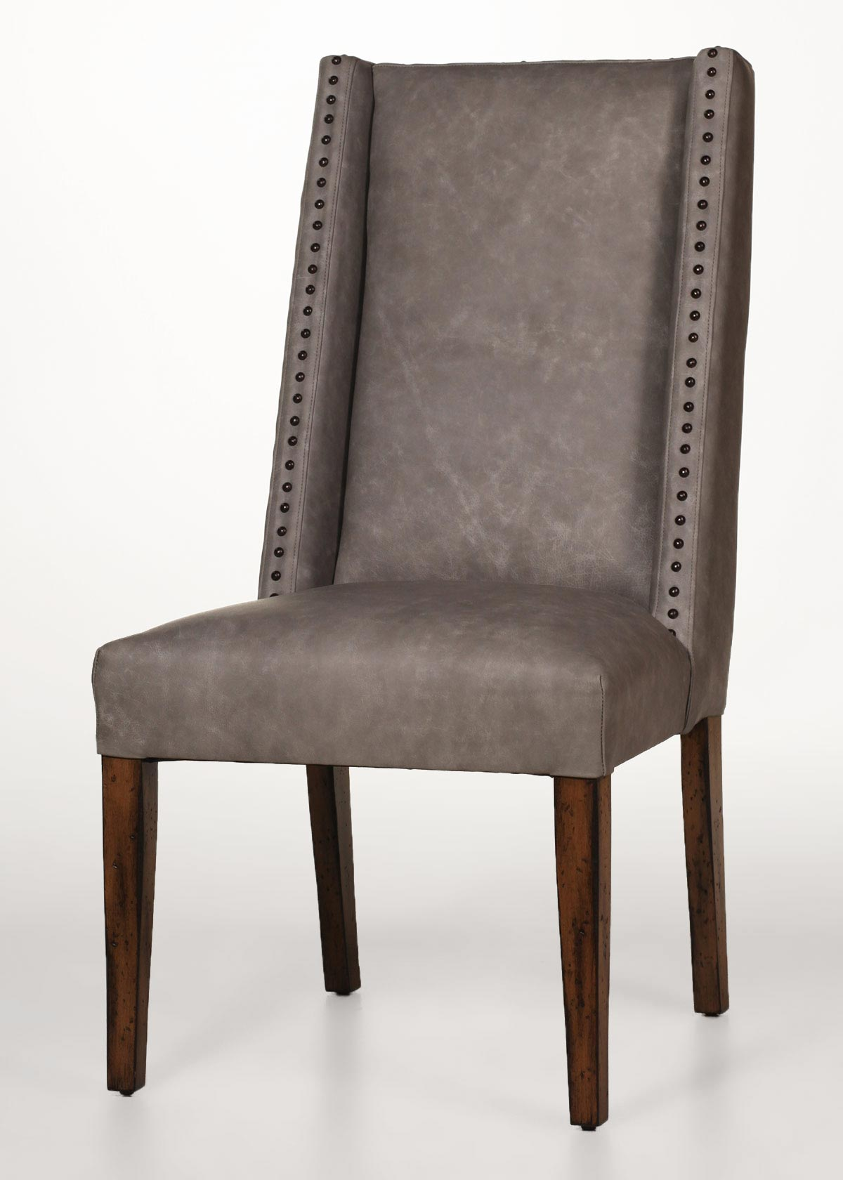 Beige Leather Dining Chairs Menlo Dining Chair
