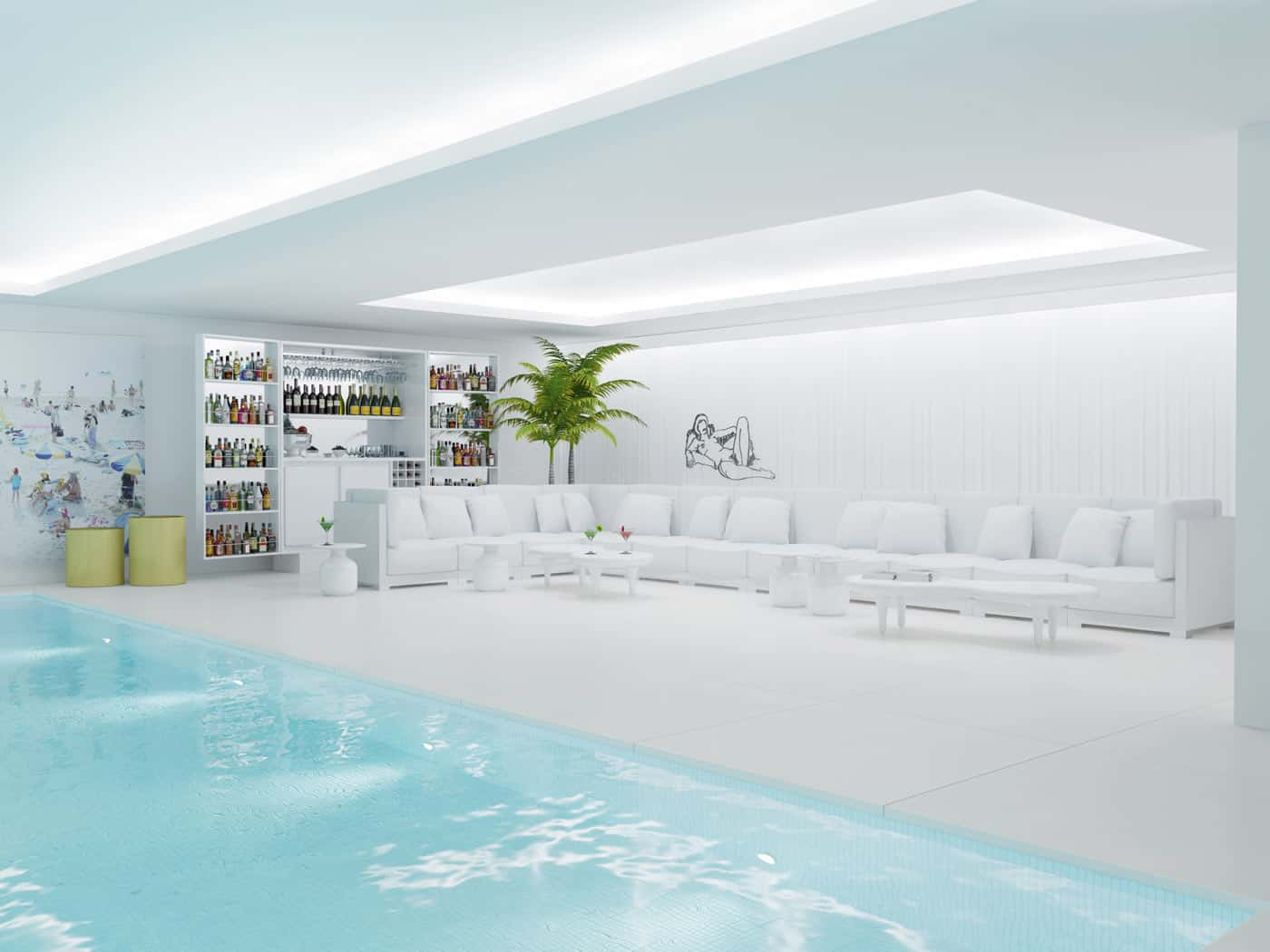 Interior Swimming Pool Carroll Design