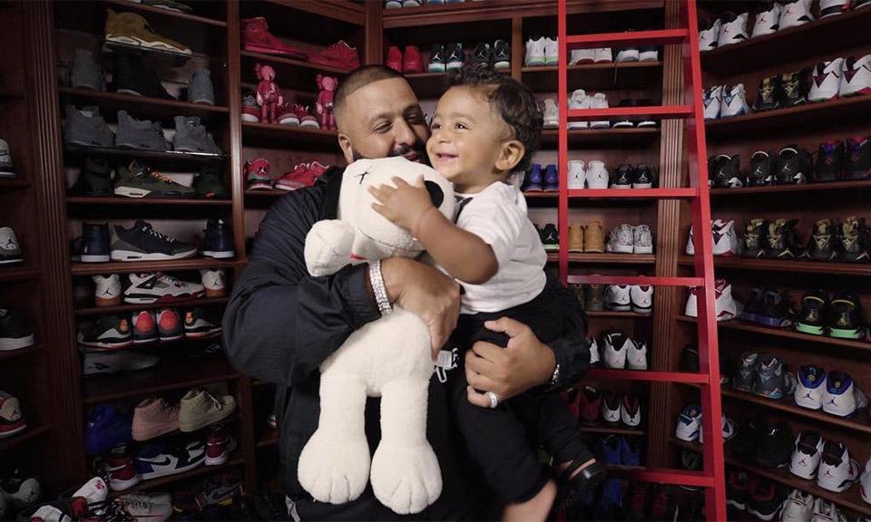 DJ Khaled's Rare Air Jordans (And 19 Other Favorite