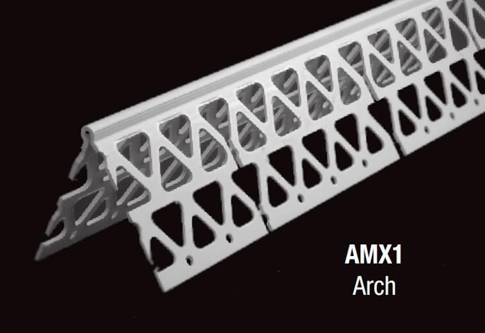Stucco Vinyl Arched Corner Bead  Carrolls Building Materials