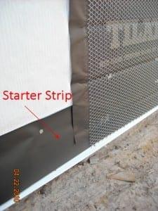 Stucco Lath Paper Starter Strips  Carrolls Building