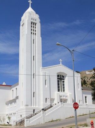 Emmanuel Conception Church, 1941, Butte, J.G. Link, art deco