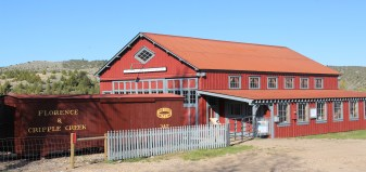 Roundhouse at Nevada City