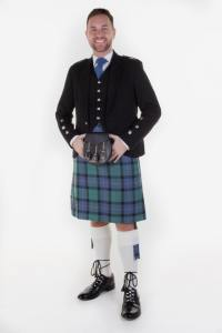 mod black crail outfit-flower of scotland