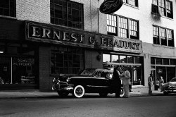 Ernest G. Beaudry Ford exterior __ Lane Brothers Photographs