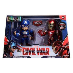 Metals Die Cast Capitan America Civil War (Capitan America & Ironman)