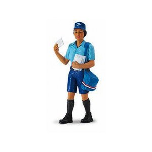 Figura Rosey Mail Carrier / 10 cm
