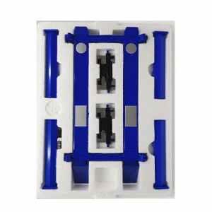 Rampa Elevadora de 4 postes color azul