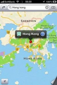 Apple Maps image post on social media