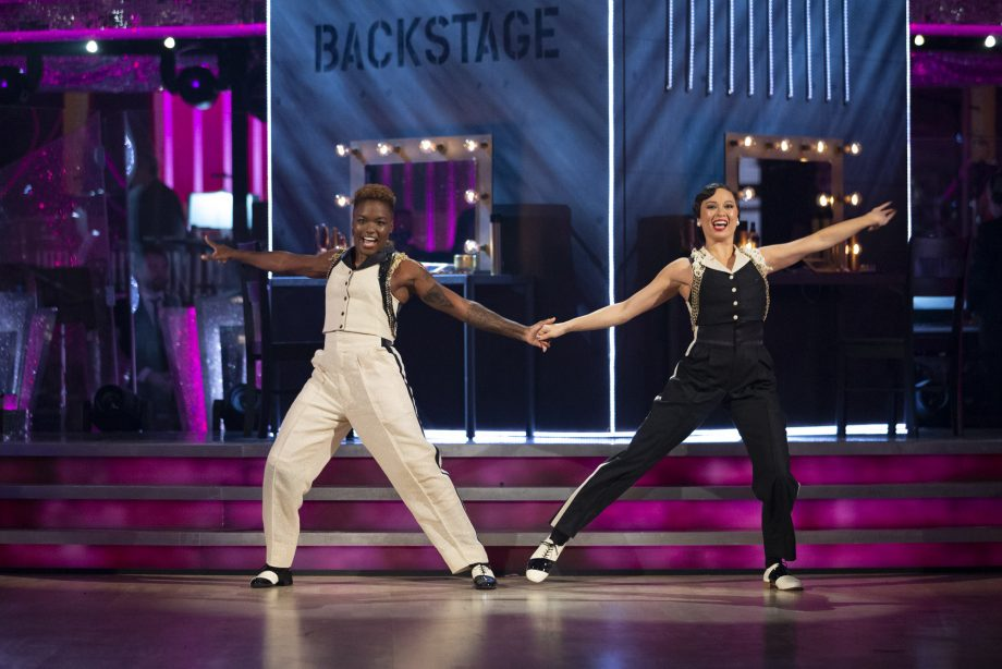 Nicola Adams makes Strictly history