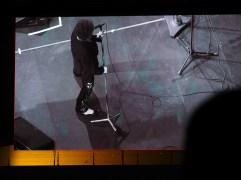 Bob Dylan on the big screen (Olympus Pen-F)