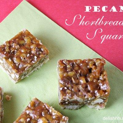 Pecan Shortbread Squares