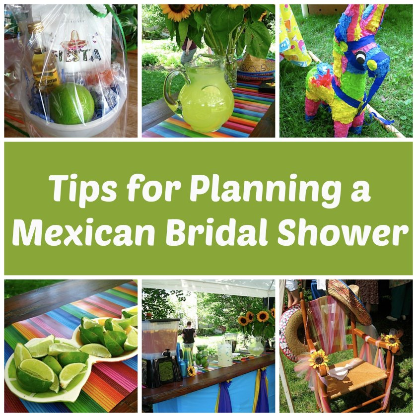 Tips For Planning A Mexican Bridal Shower