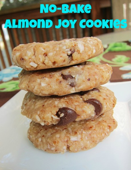 No-Bake Almond Joy Cookies