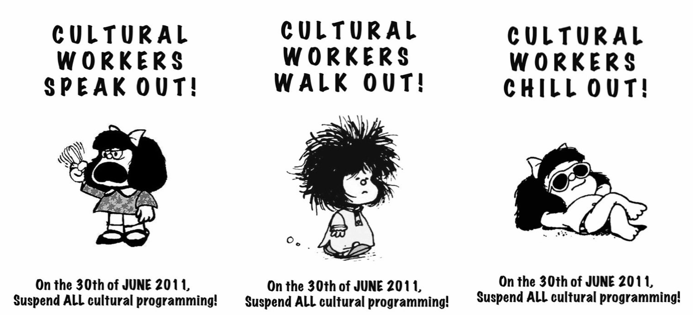 Suspend all cultural programming/work on June 30th