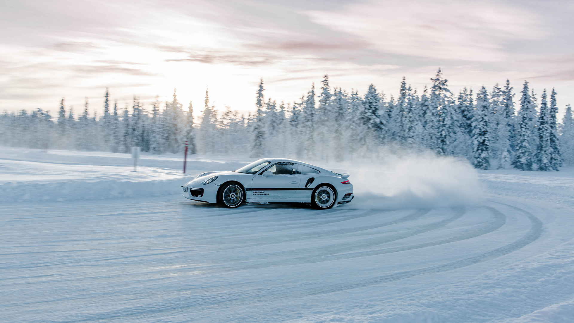 Rally Car Wallpaper Snow Ice Cold Driving Pleasure With Porsche Carrrs Auto Portal