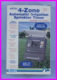 * Lego Water Whiz Automatic 4-Zone Sprinkler Timer 9193 | eBay