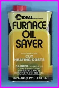 ** Furnace Fuel Oil Saver Efficiency Additive Saves Money ...