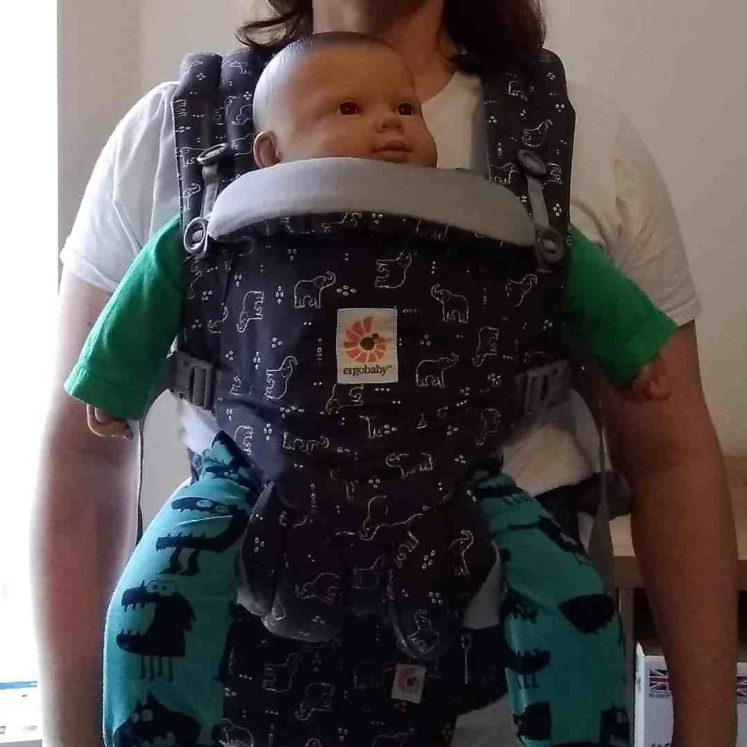 Ergobaby Omni 360 baby carrier from newborn forward facing