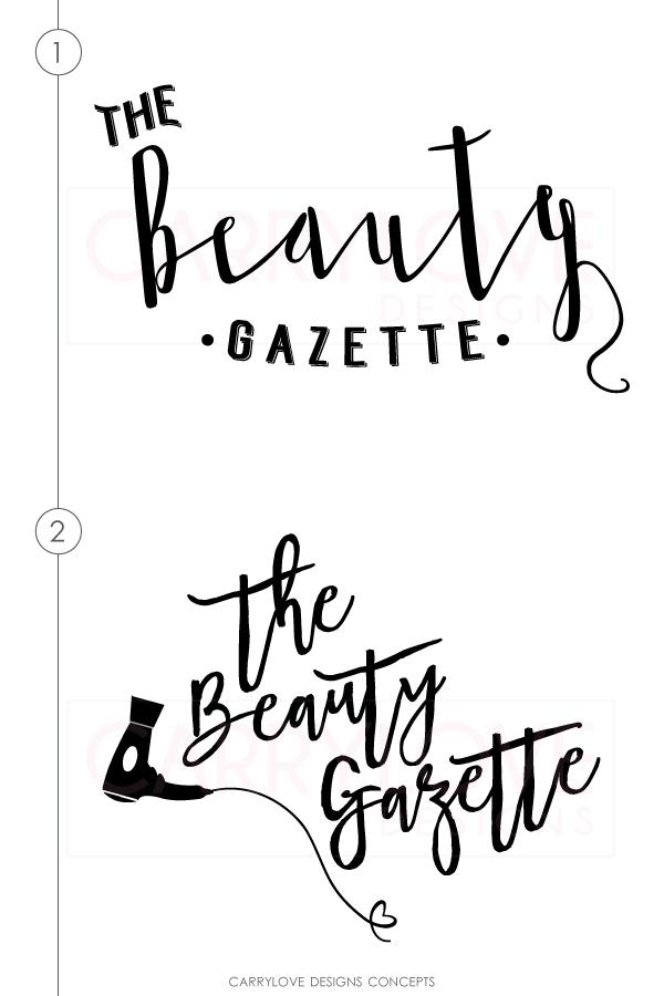 the-beauty-gazette-logo-concepts-brand-launch