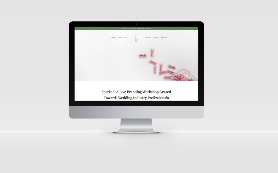 Sparked Workshop Website Presentation