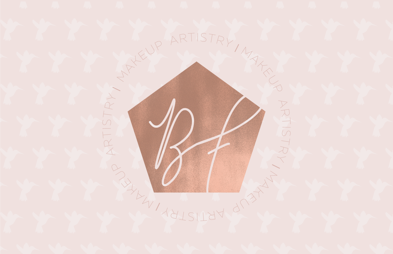 Be Free Makeup Artistry Brand Identity and Brand Reveal