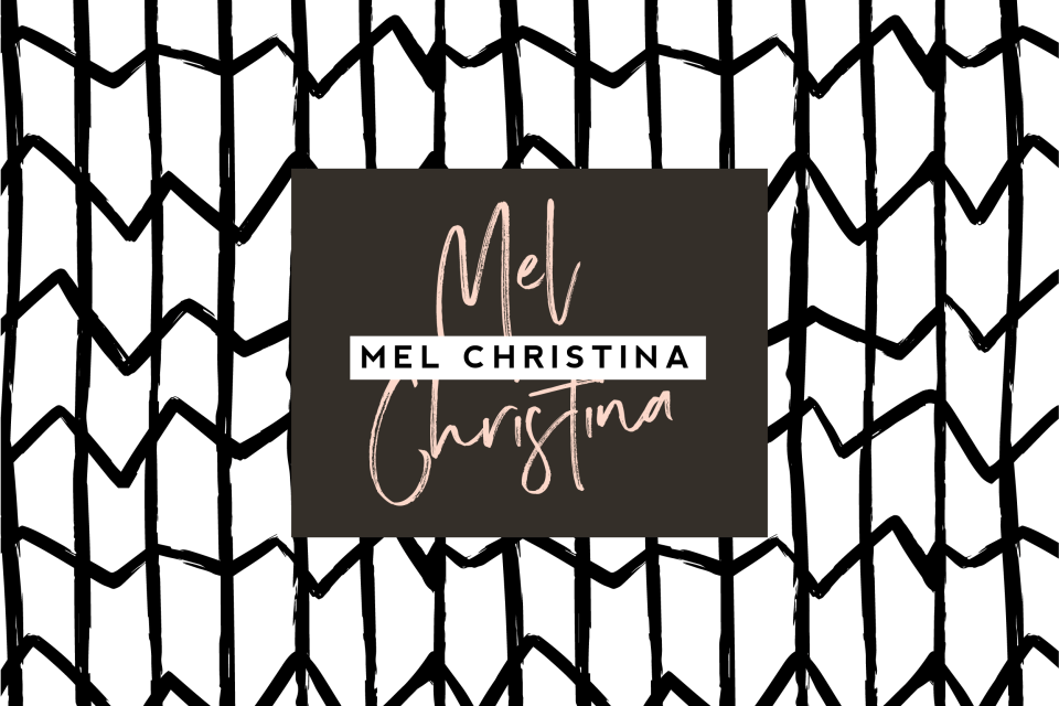Modern Brand Reveal for Mel Christina Photography