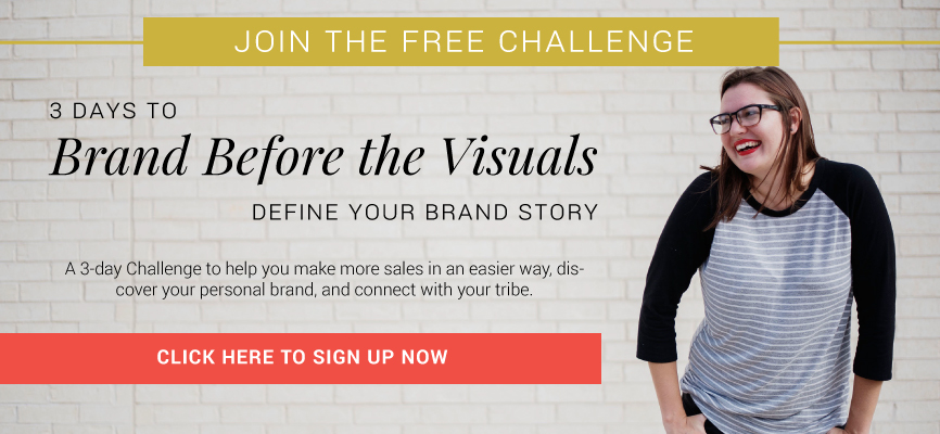 Define Your Brand Challenge by Carrylove Designs: Learn how to define your personal brand