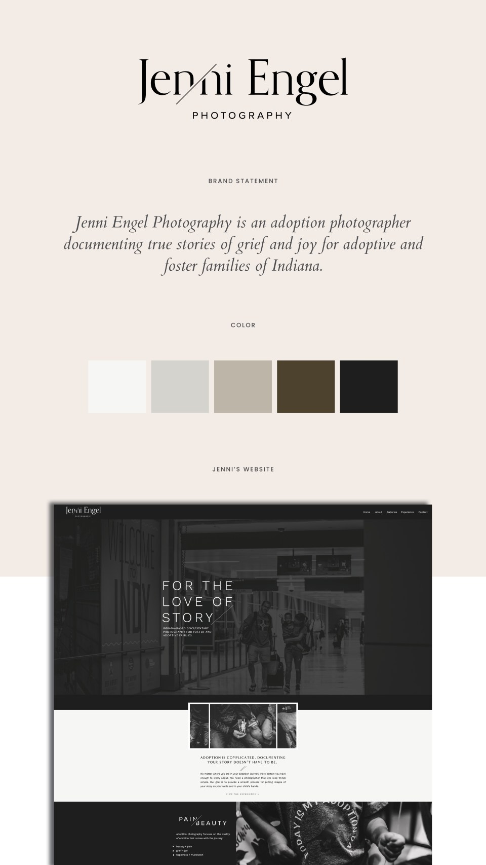Showit Web Design | Jenni Engel Photography