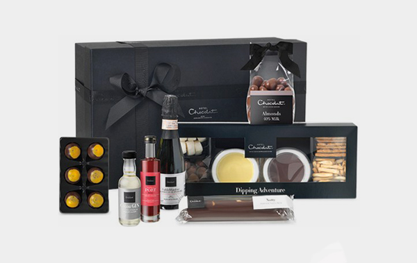 The Dinner Party Hamper chocolates hamper valentines day