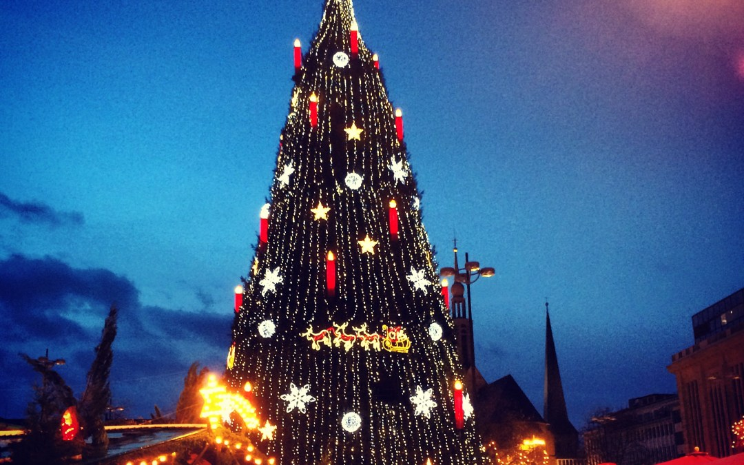 The Country of Christmas, Markets, Connecting with Old Friends and Making New: Germany
