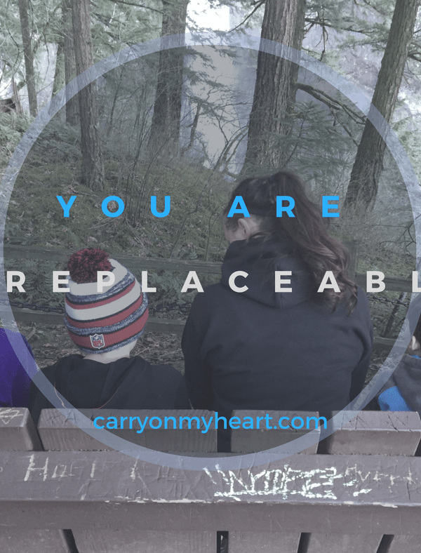 You are Irreplaceable—A Mother's Worth