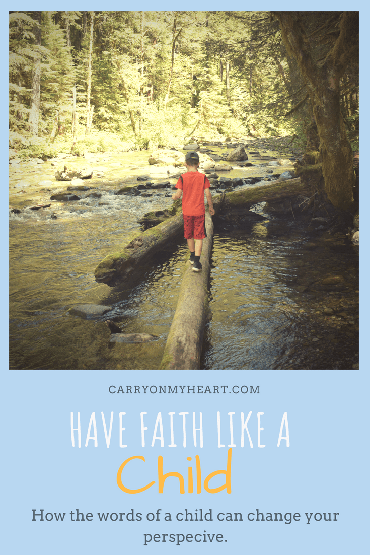 How to Have Faith Like a Child and Choose Brave
